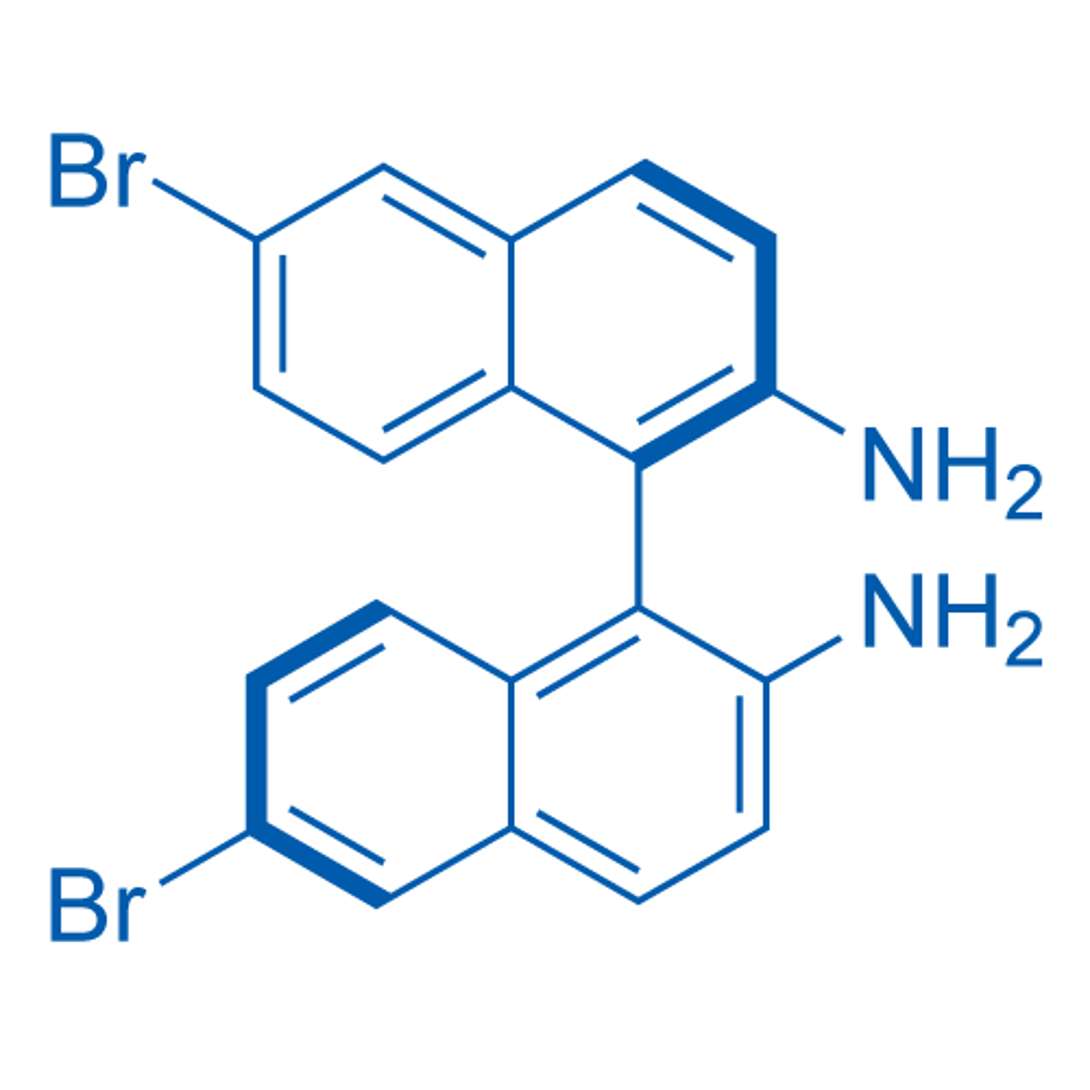 (R)-6,6'-Dibromo-[1,1'-binaphthalene]-2,2'-diamine