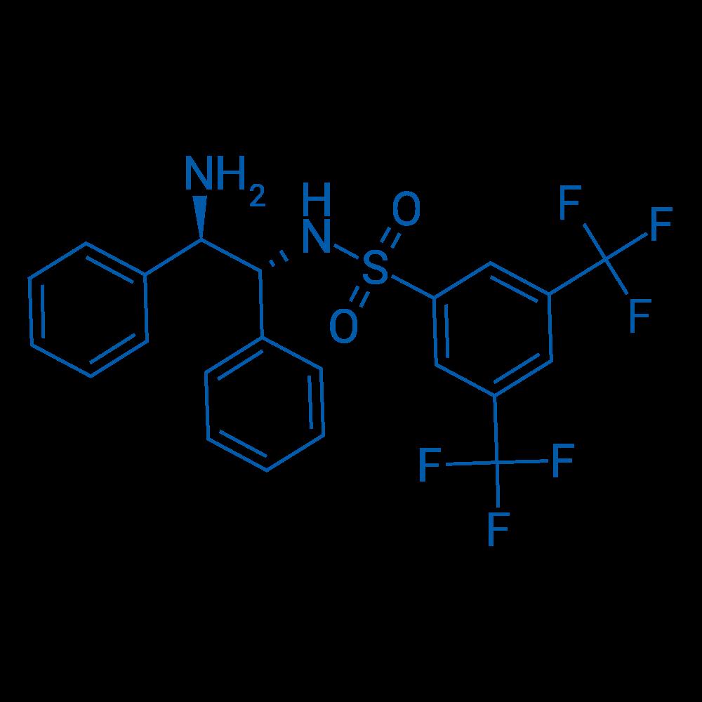 N-((1R,2R)-2-Amino-1,2-diphenylethyl)-3,5-bis(trifluoromethyl)benzenesulfonamide