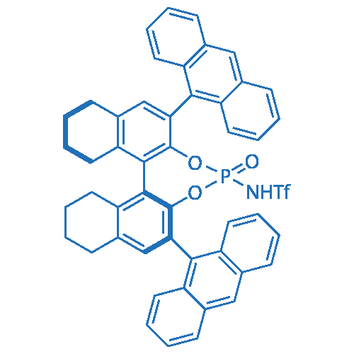 (11bS)-N-(2,6-Di(anthracen-9-yl)-4-oxido-8,9,10,11,12,13,14,15-octahydrodinaphtho[2,1-d:1',2'-f][1,3,2]dioxaphosphepin-4-yl)-1,1,1-trifluoromethanesulfonamide