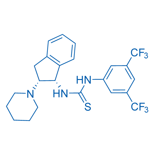1-(3,5-Bis(trifluoromethyl)phenyl)-3-((1S,2R)-2-(piperidin-1-yl)-2,3-dihydro-1H-inden-1-yl)thiourea