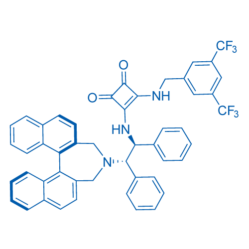 (11bR)-3-((2-(3H-dinaphtho[2,1-c:1',2'-e]azepin-4(5H)-yl)-1,2-diphenylethyl)amino)-4-((3,5-bis(trifluoromethyl)benzyl)amino)cyclobut-3-ene-1,2-dione