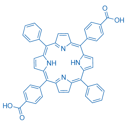 5,15-Diphenyl-10,20-di(4-carboxyphenyl)porphine