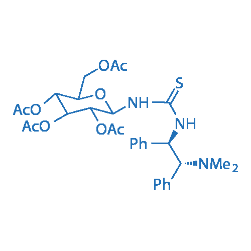 (2R,3R,4S,5R,6R)-2-(Acetoxymethyl)-6-(3-((1R,2R)-2-(dimethylamino)-1,2-diphenylethyl)thioureido)tetrahydro-2H-pyran-3,4,5-triyl triacetate