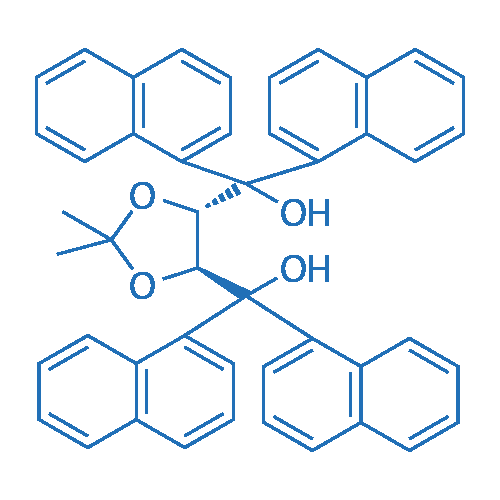 ((4S,5S)-2,2-Dimethyl-1,3-dioxolane-4,5-diyl)bis(di(naphthalen-1-yl)methanol)