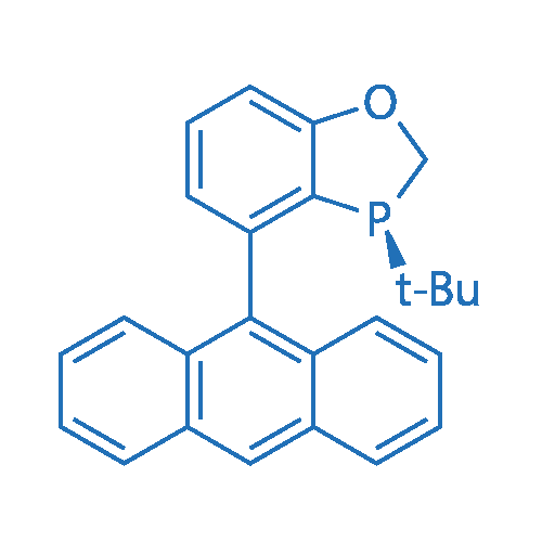 (S)-4-(Anthracen-9-yl)-3-(tert-butyl)-2,3-dihydrobenzo[d][1,3]oxaphosphole