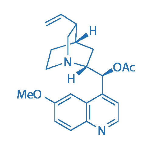 (1S)-(6-Methoxyquinolin-4-yl)(5-vinylquinuclidin-2-yl)methyl acetate