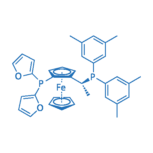 (2R)-1-[(1R)-1-[Bis(3,5-dimethylphenyl)phosphino]ethyl]-2-(di-2-furanylphosphino)ferrocene