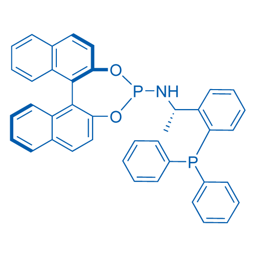(11bR)-N-(1-(2-(Diphenylphosphino)phenyl)ethyl)dinaphtho[2,1-d:1',2'-f][1,3,2]dioxaphosphepin-4-amine