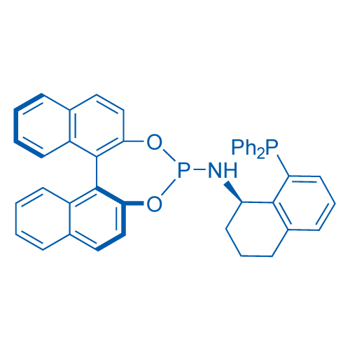 (11bS)-N-(8-(Diphenylphosphino)-1,2,3,4-tetrahydronaphthalen-1-yl)dinaphtho[2,1-d:1',2'-f][1,3,2]dioxaphosphepin-4-amine