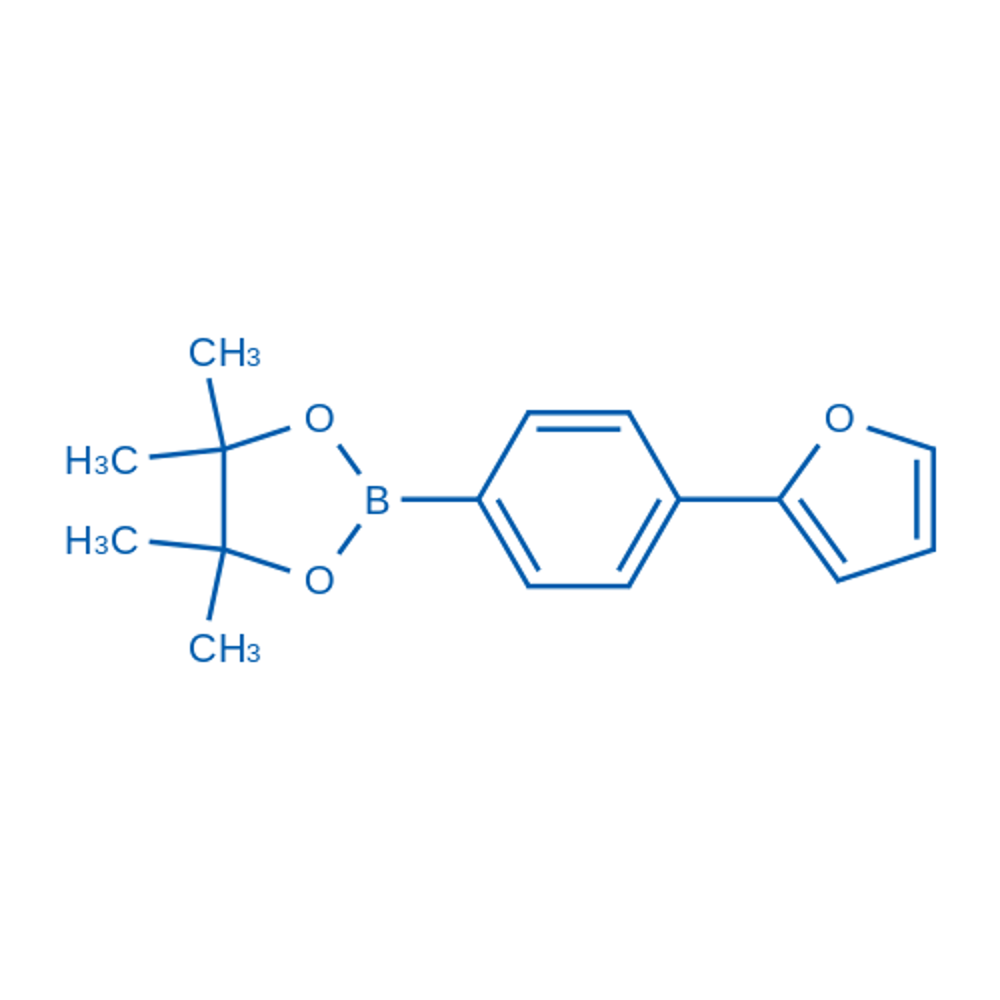 2-(4-(Furan-2-yl)phenyl)-4,4,5,5-tetramethyl-1,3,2-dioxaborolane
