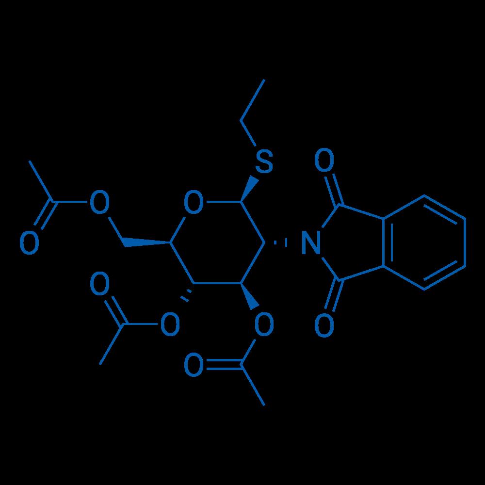 Ethyl 3,4,6-tri-O-acetyl-2-deoxy-2-phthalimido-β-D-thioglucopyranoside