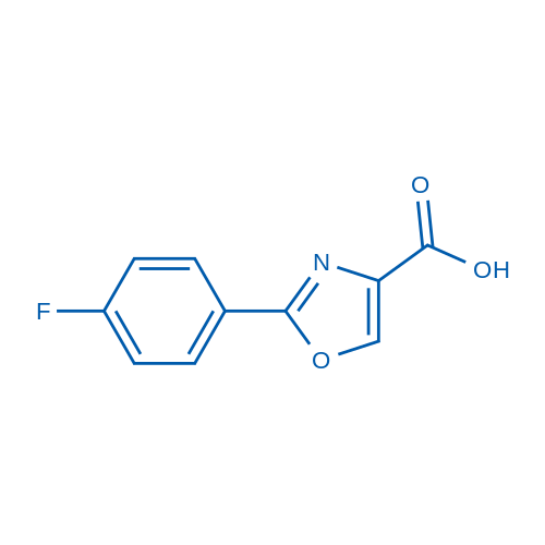 2-(4-Fluorophenyl)-1,3-oxazole-4-carboxylic acid
