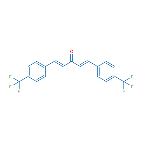 1,5-Bis(4-(trifluoromethyl)phenyl)penta-1,4-dien-3-one
