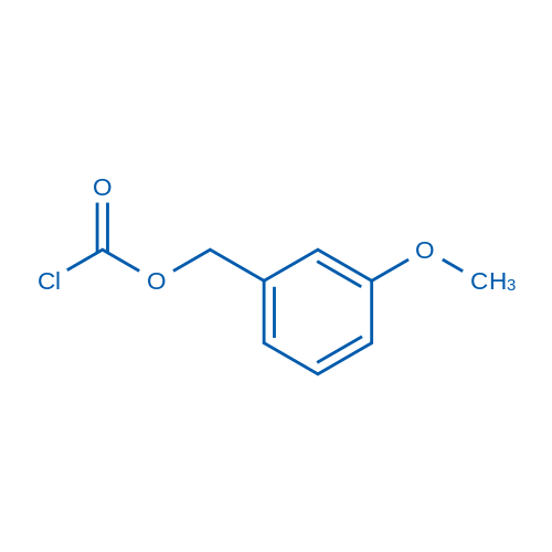 (3-Methoxyphenyl)methyl chloroformate