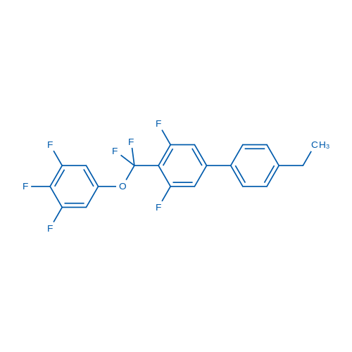 4-(Difluoro(3,4,5-trifluorophenoxy)methyl)-4'-ethyl-3,5-difluoro-1,1'-biphenyl