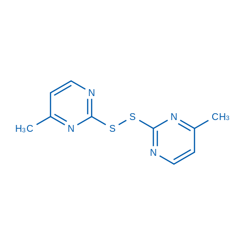 4-Methyl-2-[(4-methylpyrimidin-2-yl)disulfanyl]pyrimidine